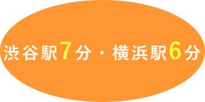 渋谷駅7分・横浜駅6分・大宮駅3分
